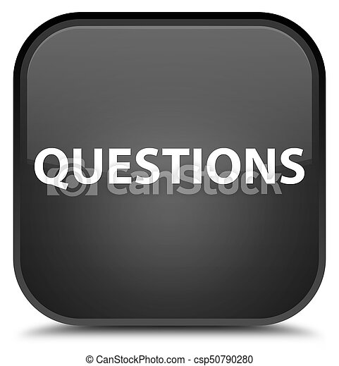 Questions special black square button - csp50790280