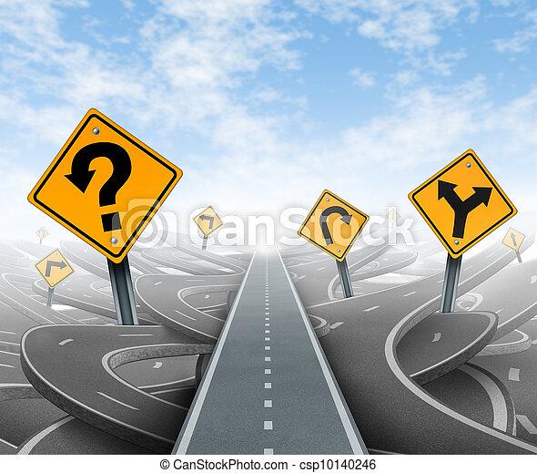 questons, solutions, stratégie - csp10140246