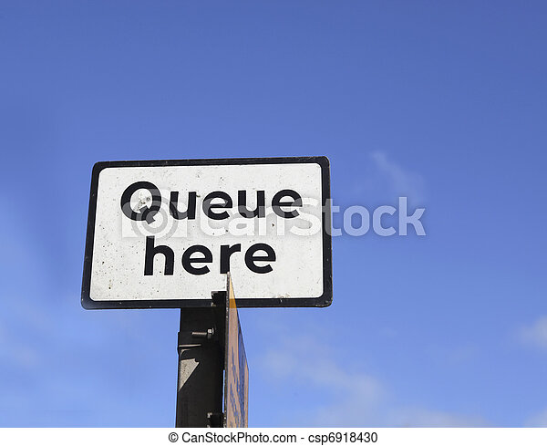 Queue here - csp6918430
