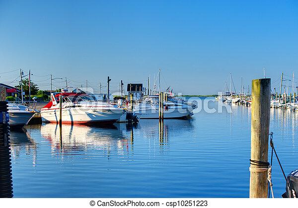 Quiet Marina - csp10251223