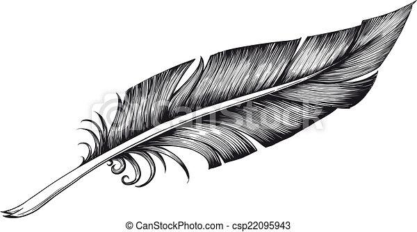 quill pen - csp22095943
