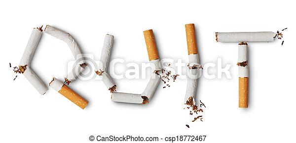 Quit smoking - csp18772467