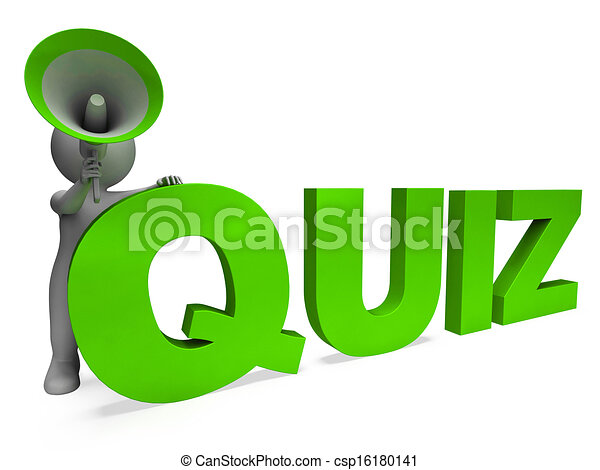 Art Quiz : Quiz character means test questions answers or questioning