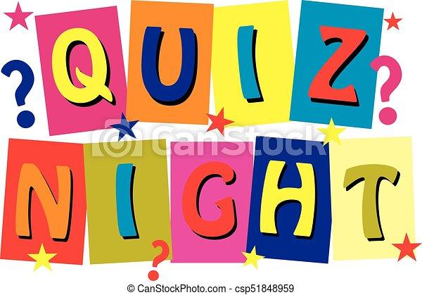 Art Quiz : Quiz night clip art and stock illustrations. 51 eps
