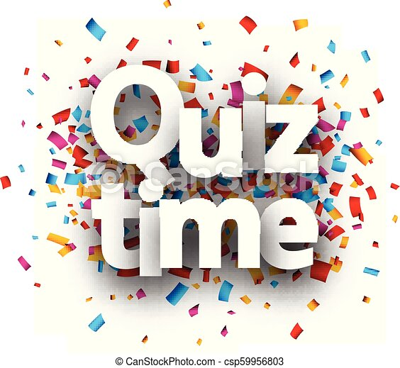 Quiz time Clip Art and Stock Illustrations  640 Quiz time