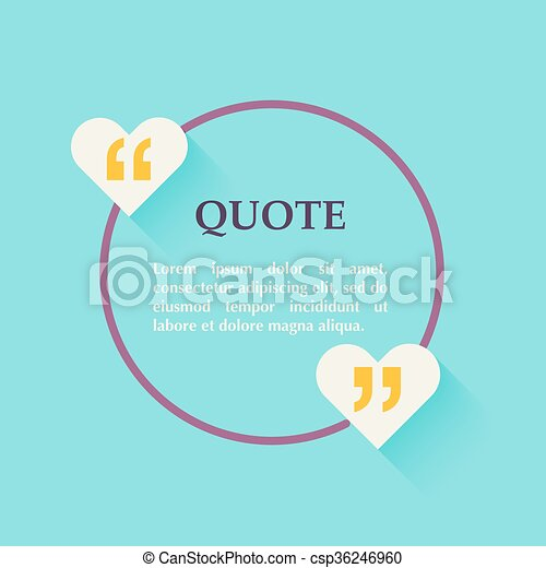 Quote blank template design elements circle business card template quote blank template design elements circle business card template paper sheet information text quote template for your design cheaphphosting Image collections