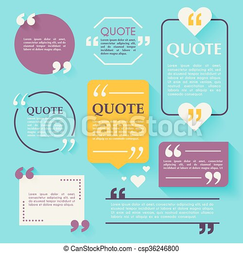 Quote blank template design elements circle business card template quote blank template design elements circle business card template paper sheet information text quote template for your design colourmoves