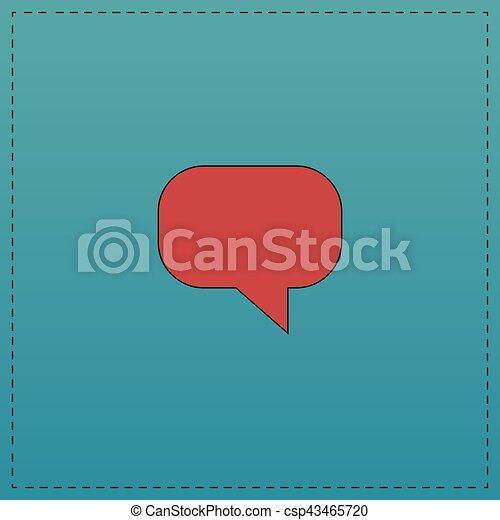 Quote computer symbol - csp43465720