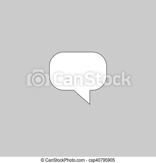 Quote computer symbol - csp40795905