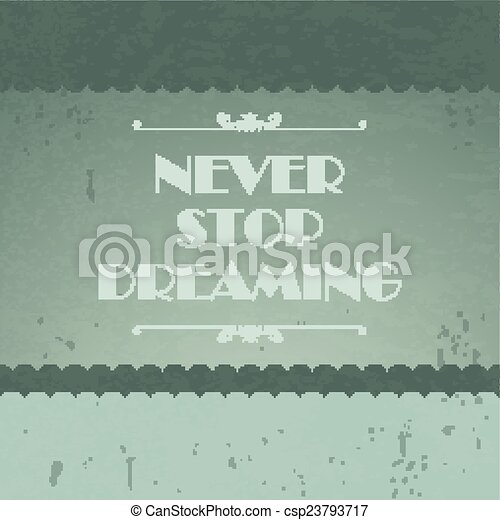 Quote Typographical Background - csp23793717