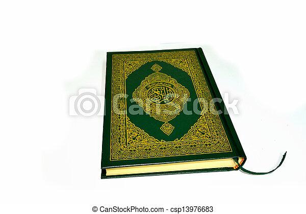quran, święty - csp13976683