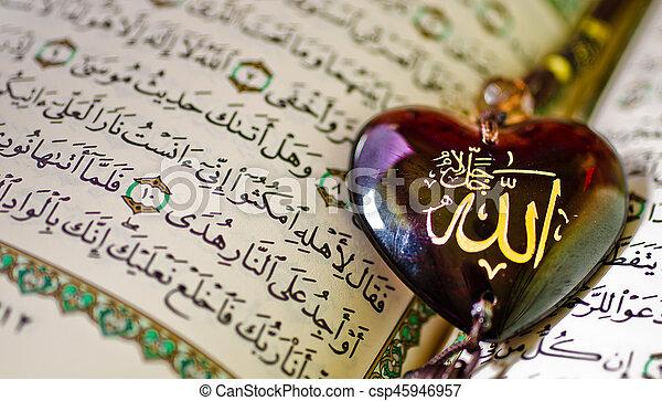 quran, święty - csp45946957