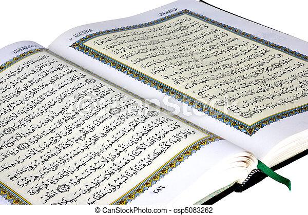 quran, święty - csp5083262
