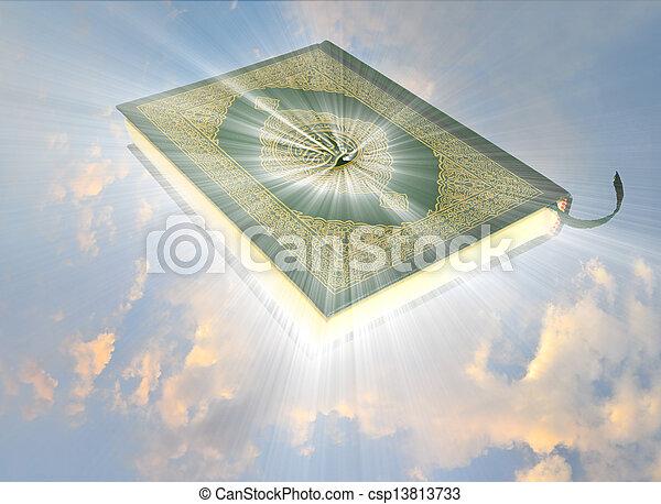 quran, święty - csp13813733