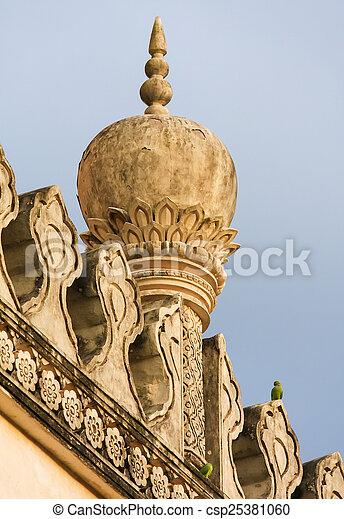 Qutb Shahi Tombs in Hyderabad, India - csp25381060