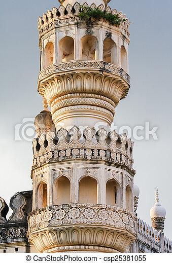 Qutb Shahi Tombs in Hyderabad, India - csp25381055
