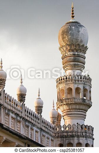 Qutb Shahi Tombs in Hyderabad, India - csp25381057