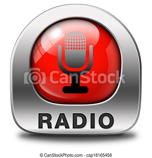 rádio, ícone - csp18165456