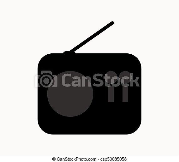 rádio, ícone - csp50085058