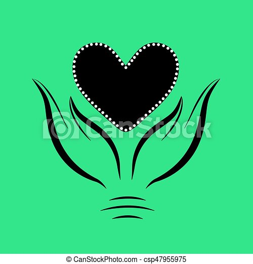 räcker, hjärta - csp47955975