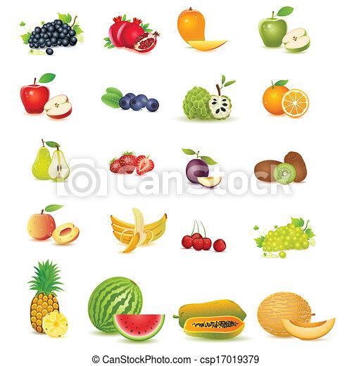 rå frukt - csp17019379