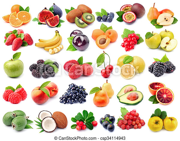 rå frukt - csp34114943