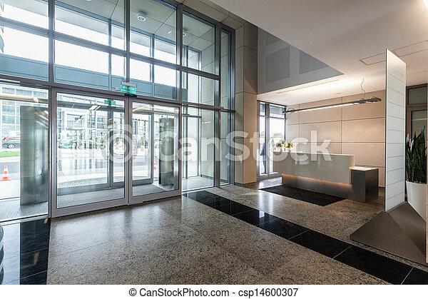 réception, bureau - csp14600307
