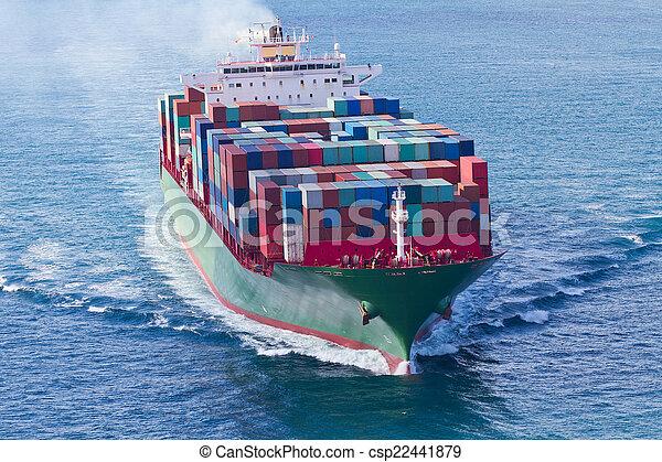 récipient bateau - csp22441879