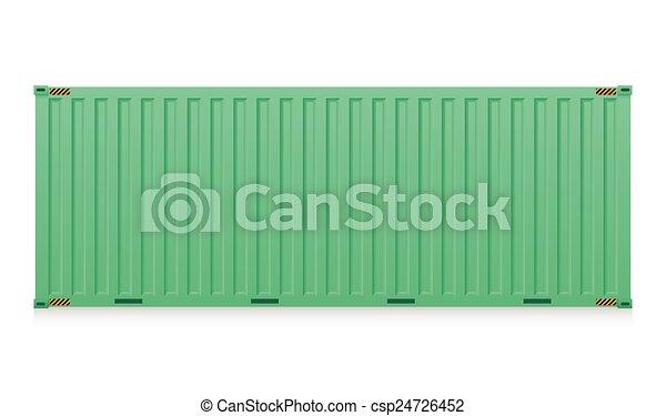 récipient cargaison - csp24726452