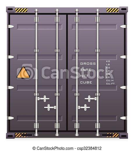 récipient cargaison - csp32384812