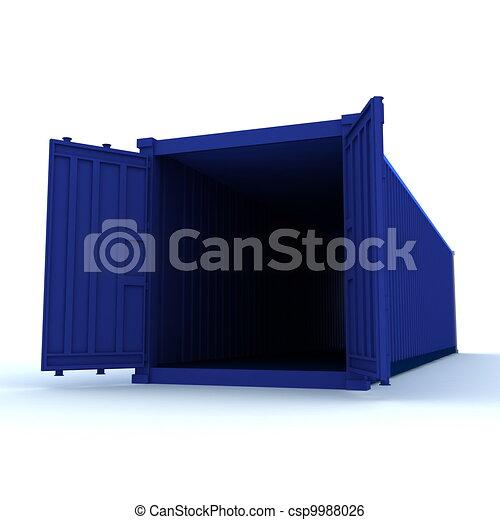récipient cargaison - csp9988026