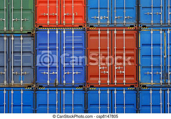 récipient cargaison - csp8147805