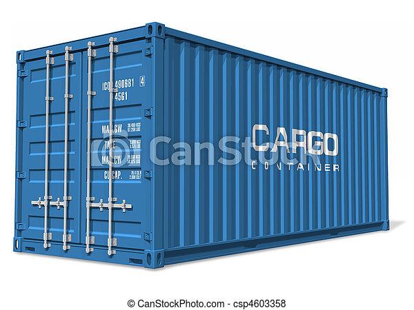 récipient cargaison - csp4603358