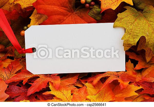 récolte, automne - csp2566641