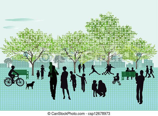 récréation, parc - csp12678973