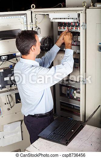réparation, machine, industriel, ingénieur - csp8736456