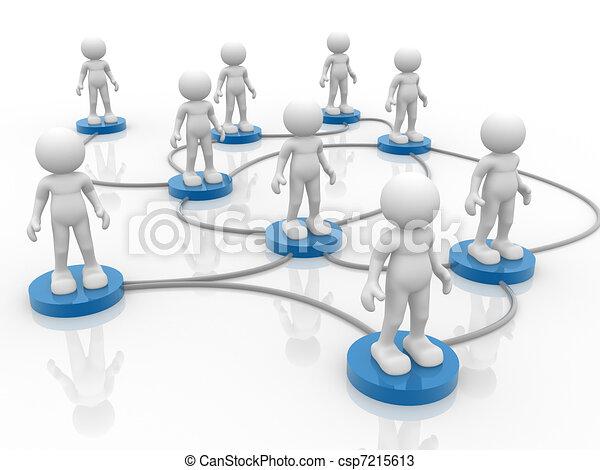 réseau - csp7215613