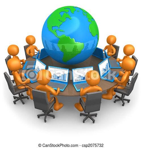 réseau global - csp2075732