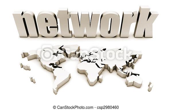 réseau global - csp2980460