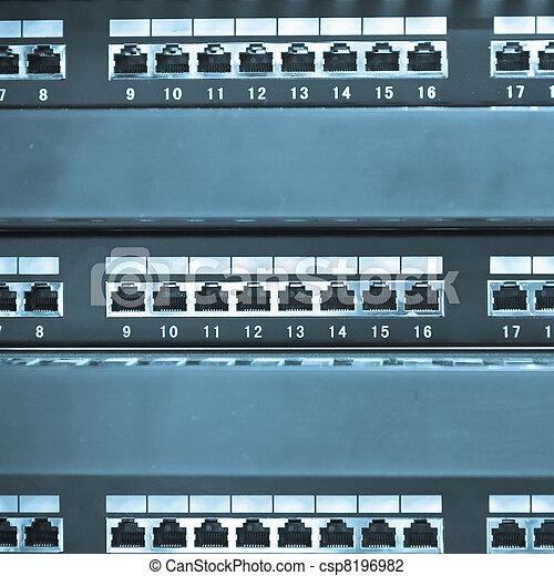 réseau, moyeu - csp8196982