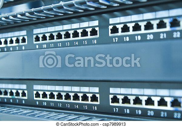réseau, moyeu - csp7989913
