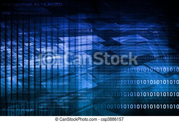 réseau, social - csp3886157