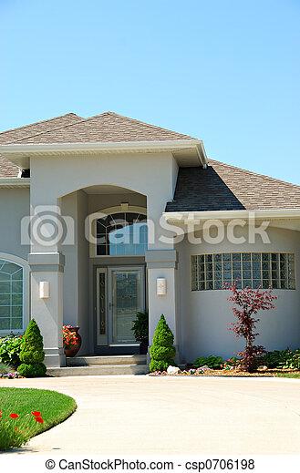 résidentiel, haut gamme, maison - csp0706198