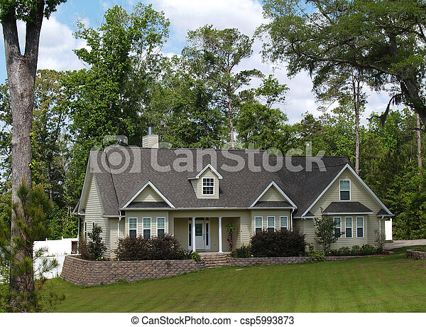 résidentiel, maison - csp5993873