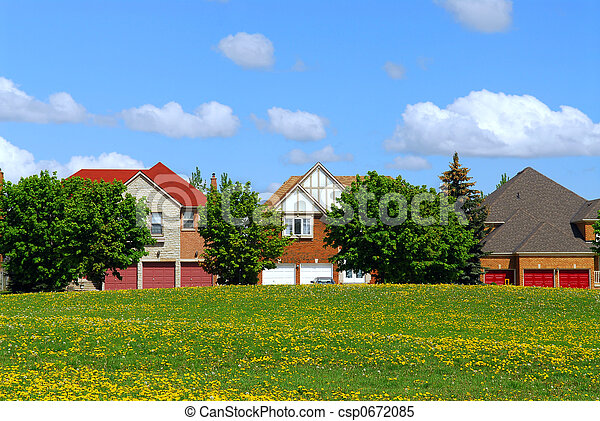 résidentiel, maisons - csp0672085