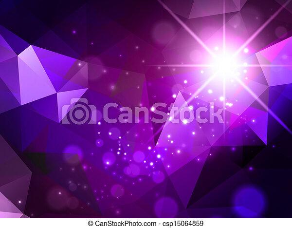 résumé, étoile, fond - csp15064859