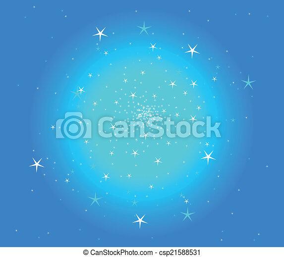 résumé, étoile, fond - csp21588531