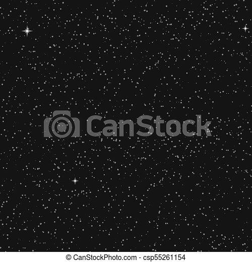 résumé, étoiles, space., fond, vector. - csp55261154