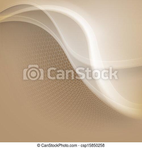 résumé, arrière-plan beige - csp15850258