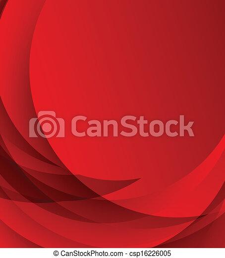 résumé, arrière-plan rouge - csp16226005